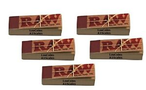 5-Packs-250-pcs-Raw-unbleached-TIPS-for-hand-rolled-cigarette-rolling-paper-new