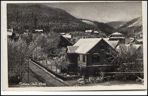 Tabarz-Thueringer-Wald-Postkarte-1944-gelaufen-Teilansicht-Villa-Wohnhaus-Ansicht