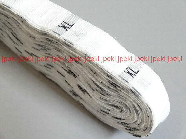 500 White Woven Clothing Garment Size Labels Tags S M L XL XXL XXXL XXXXL N107
