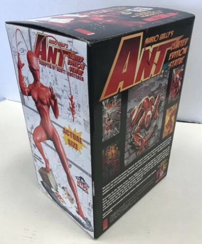"""Mario Gully/'s /""""Ant/"""" Limited Edition Statue Majic Productions MIB"""