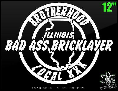 Funny Bad Ass Sheet Metal Worker Vinyl Decal Sticker CUSTOM LOCAL NUMBER Union