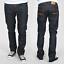 Nudie-Herren-Regular-Straight-Fit-Jeans-Hose-B-Ware-Neu-Blau-Schwarz Indexbild 22