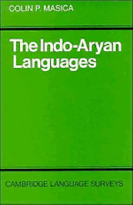 The Indo-Aryan Languages by Masica, Colin P. (Hardback book, 1991)
