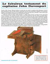PUBLICITE ADVERTISING 094  1966  JOHN DAVENPORT  écritoire par GUILLOW