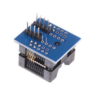 Circuito-integrado-pequeno-esbozo-de-8-SOP8-A-Adaptador-Convertidor-de-Socket-DIP8-EZ-Programador