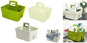 Plastic-Handy-Caddy-Storage-Tidy-Kitchen-Sink-Cleaning-DIY-Tool-Box-Utility-Unit