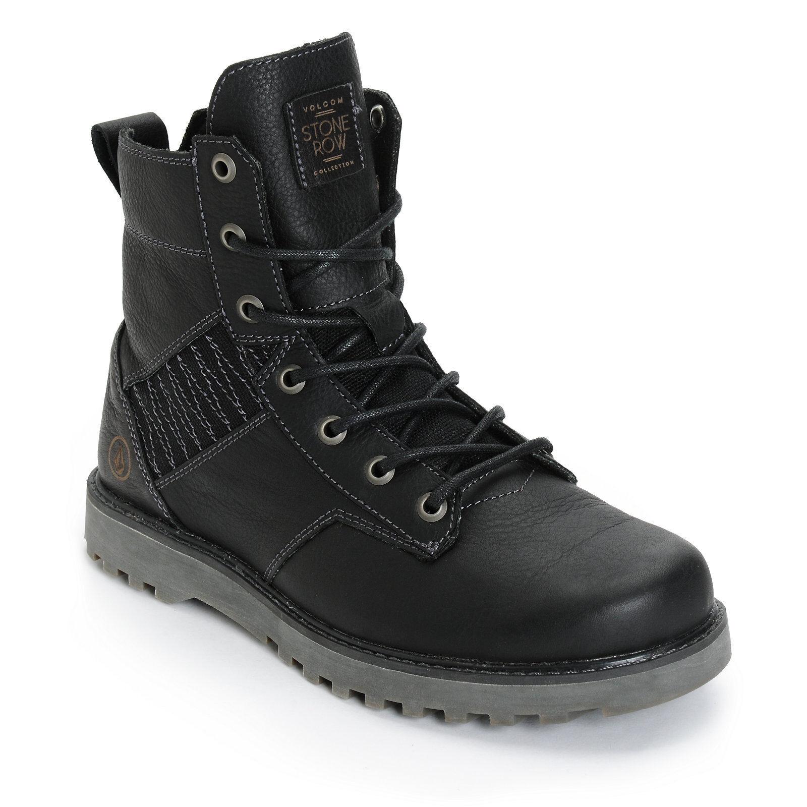 Volcom Hemlock Women's Leather  Leather Women's Boots  NIB d8d85f