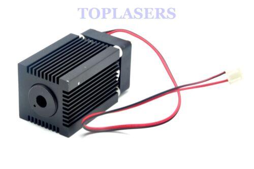 Focusable Housing//Case//Heatsink for 445nm 450nm 9mm Laser Diode LD Module Fan