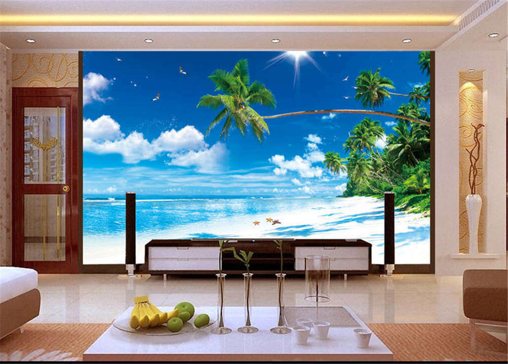 Amazing Slight Sky 3D Full Wall Mural Photo Wallpaper Printing Home Kids Decor