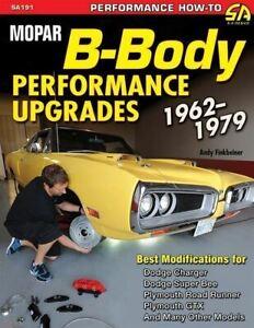 Mopar-B-Body-Performance-Upgrade-Manual-Book