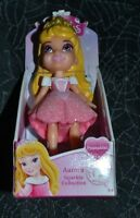 My First Disney Princess Mini Toddler Aurora Sparkle Collection Poseable Doll