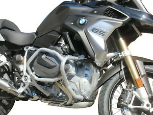 Details about CRASH BARS ENGINE GUARD HEED BMW R 1250 GS - Bunker silver