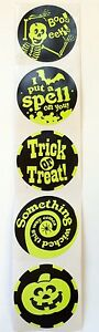 50-Halloween-Glow-In-The-Dark-Stickers-Party-Favors-Teacher-Supply-Ghost-BOO