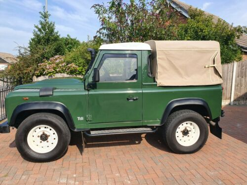 1986-C-REG-LANDROVER-DEFENDER-300TDI-90-PICK-UP-IN-IMACULATE-CONDITION