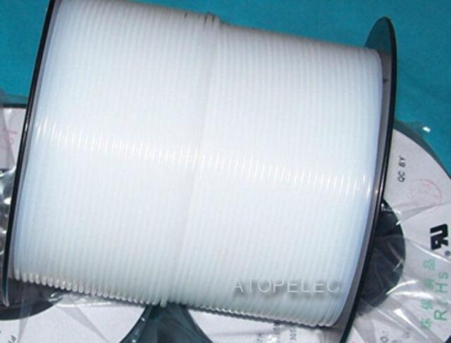 5M PTFE F4 Tubing Pipe ROHS ID 0.3mm~1.3mm Rigid Translucent