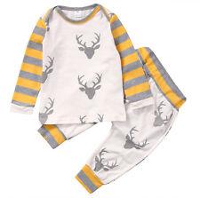 18-24M Newborn Baby Boy Girl Kids Cotton Romper Jumpsuit Bodysuit Clothes Outfit
