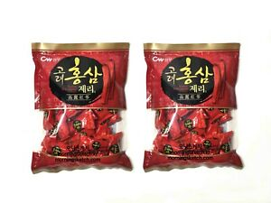 800g Korean red ginseng extract nutritious jelly candy gummi 2packs