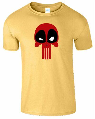 Deadpoolskull T-shirt homme anniversaire enfants cadeau tee rraining Compression Top Shirt
