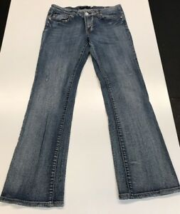 50cde7f6a84 Size 7 Vigoss Juniors Low Rise Boot Cut Flap Pocket Stretch Jeans ...