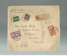 1927 France to the USA SS Leviathan Experimental Flight Oversize Cover