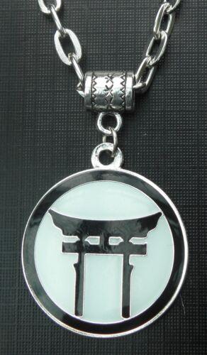 """20/"""" o 24 Pulgadas Cadena Collar /& sintoísta Torii encanto colgante símbolo de Japón japonesa"""
