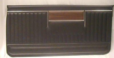 1969 Chevrolet Impala & SS Front Door Panels