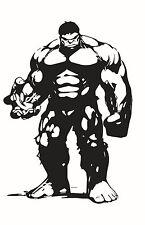 Decal Vinyl Truck Car Sticker - Marvel Avengers Hulk v2