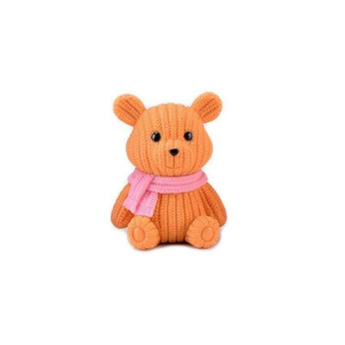 Popular Delicate Party  Animal Home Decoration Cute Plastic Tedy Bear Miniature