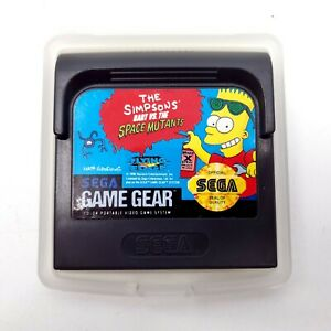 Simpsons: Bart vs. The Space Mutants (Sega Game Gear, 1992)-Tested