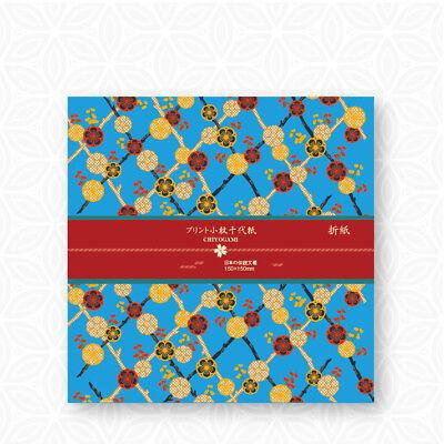 18 sheets Japan Summer fruits Lovely dog both sides Chiyogami Origami 15cm OR052