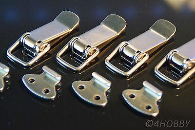 Kistenverschluss Klapp-,hebel-verschluss ZuverläSsige Leistung Energisch 4 Stück Edelstahl Spannverschluss