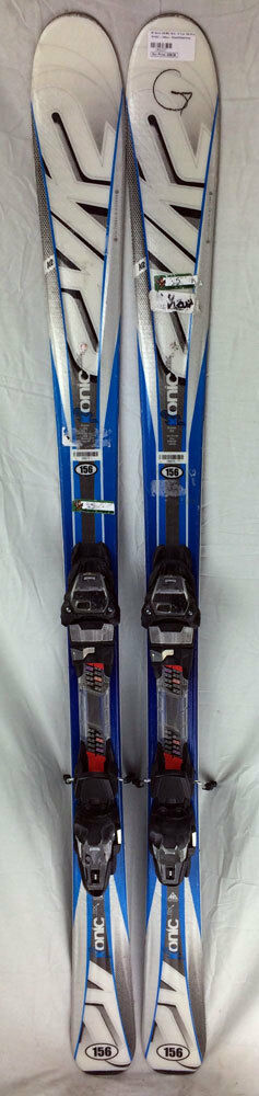 K2 Ikonic RX 156 cm Skis with M3 10.0 Bindings Blau/Weiß/grau - USED - R - Gold