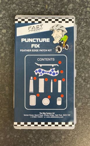 Repair Kit Fast Freddy Puncture Fix Feather Edge Patch Kit