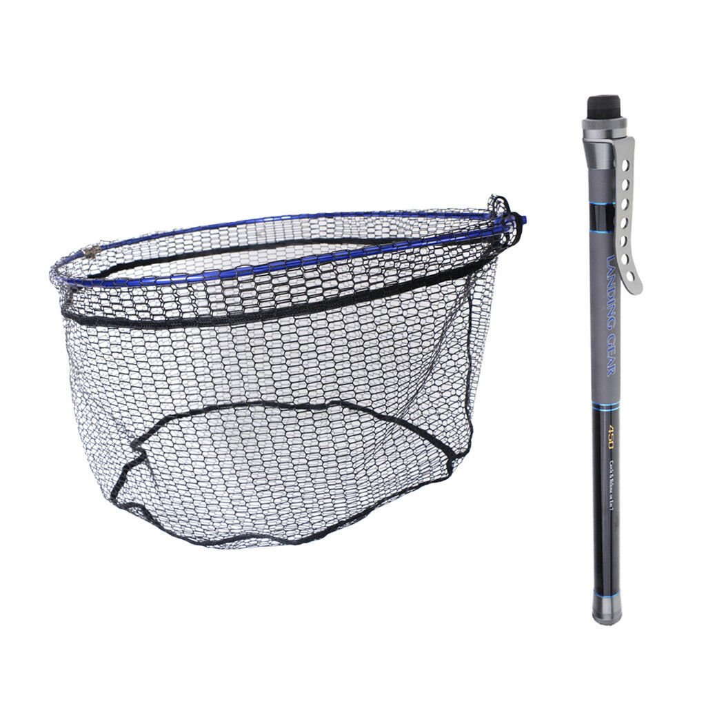 Retractable Telescopic pesca Leing Net & pesca Leing Net Hele