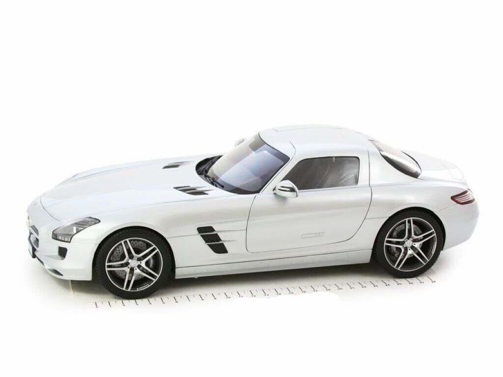oferta de tienda 1 12 premium classixxs Mercedes Benz SLS AMG AMG AMG c197 plata metallic 2011 10600  Tienda 2018