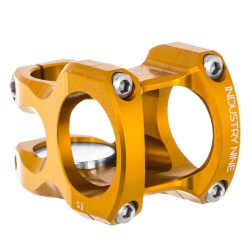 Gold 40mm 35.0 Industry Nine A35 Stem,