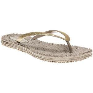 Ilse Flats Sandales Métallique Slip Enthousiaste Chaussures En 01 Womens Caoutchouc Jacobsen New Naturel aZF5Fq