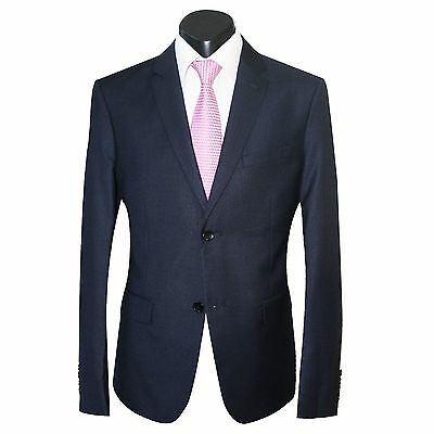 NEW MEN'S NAVY SLIM FIT SUIT