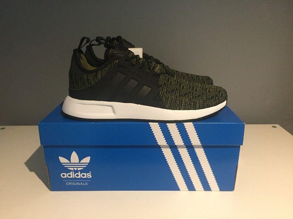 Adidas Khaki X Plr Knit Trainers Olive Womens Mens Size 4.5 BNIB