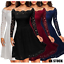 Womens-Rockabilly-Floral-Lace-Cocktail-Prom-Gown-Evening-Party-Skater-Ball-Dress