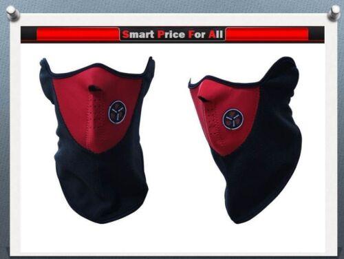 NEOPRENE MOTOR CYCLE//BIKE//BICYCLE//SKI//SNOWBOARD//FISHING NECK WARM HALF-FACE MASK