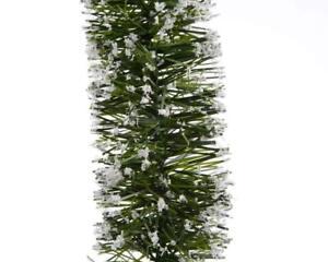 Albero Di Natale 7 Metri.Ghirlanda Innevata Neve Decorazione Per Albero Di Natale Cm 7 5 X 2 Metri Ebay