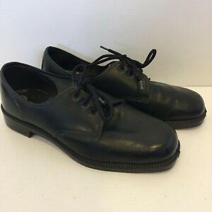 Dunlop-Mens-Black-Leather-Dress-Shoes-AU-UK7-US8-EUR41