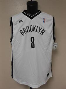 New #8 Deron Williams Brooklyn Nets Adidas Jersey YOUTH Sizes S-M-L