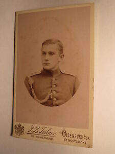 Objectif Soldat En Uniforme-régiment Ir 91/cdv Jean Baptiste Feilner Oldenburg I. Taille-afficher Le Titre D'origine