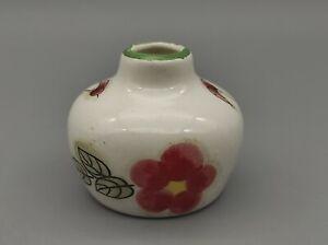 Vase Miniatur Setzkasten 70er Jahre Setzkasten Puppenstube ca. 3,5 cm