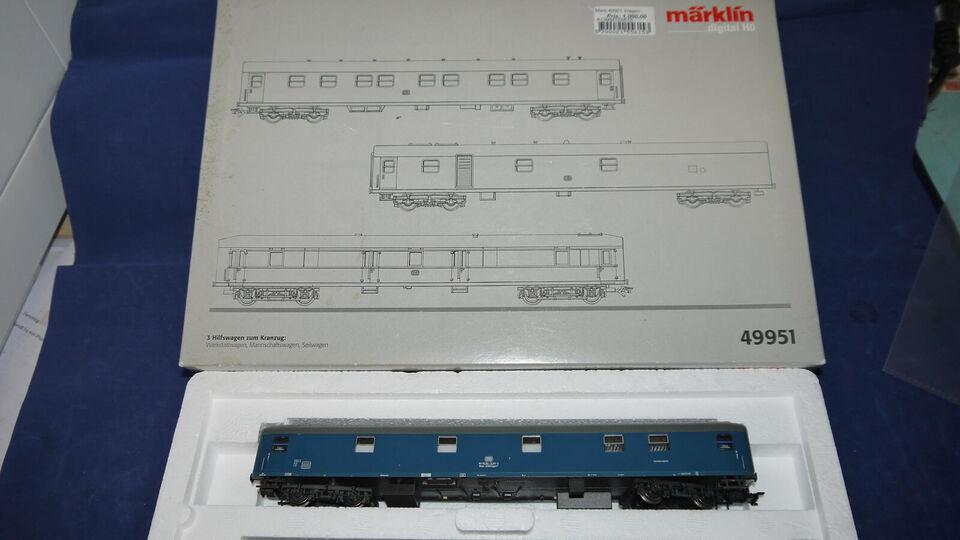 Marklin 49951 Reb/udstyrsvogne, værkstedsvogne...