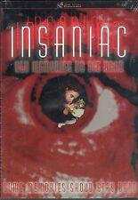 Insaniac DVD Sub Rosa SRS Cinema John Specht Low Budget SOV Gore