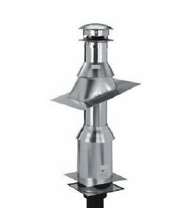 Selkirk 206620 6t Fck 6 Quot Flat Ceiling Insulated Chimney