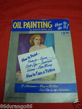 PAINTING BOOK HOW TO OIL PAINTING BY RALPH FABRI, N.A.
